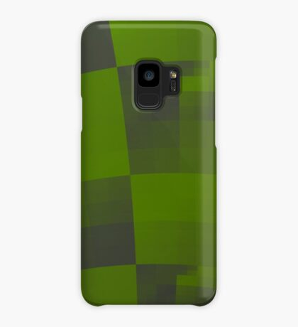 Green Squares Pattern Design Case/Skin for Samsung Galaxy