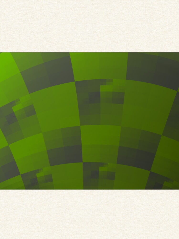 Green Squares Pattern Design by garretbohl
