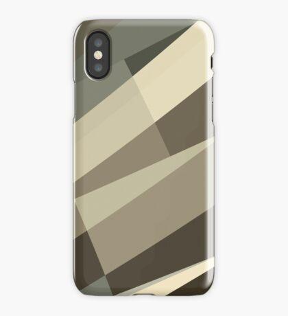 Camo Leopard Zebra Stripes Pattern  iPhone Case