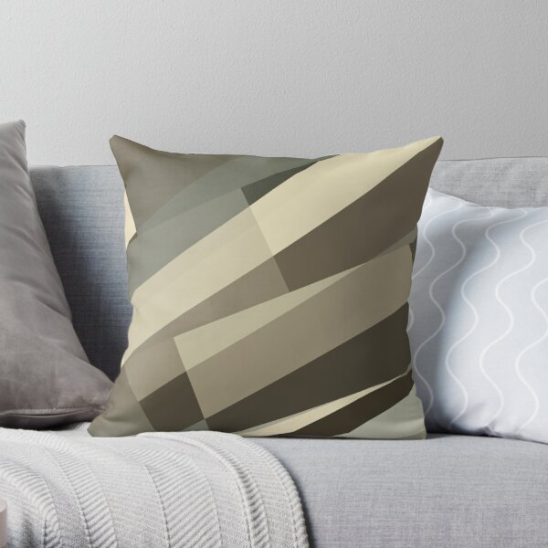 Camo Leopard Zebra Stripes Pattern  Throw Pillow
