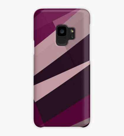 Pink Purple Leopard Design Pattern Case/Skin for Samsung Galaxy