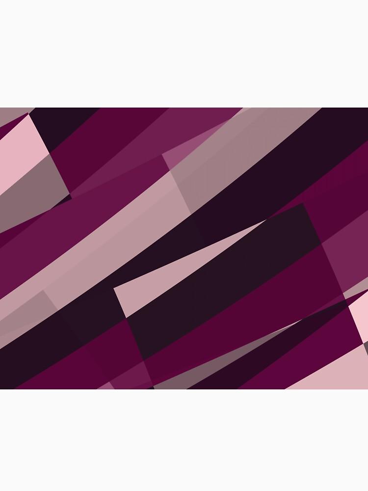 Pink Purple Leopard Design Pattern by garretbohl