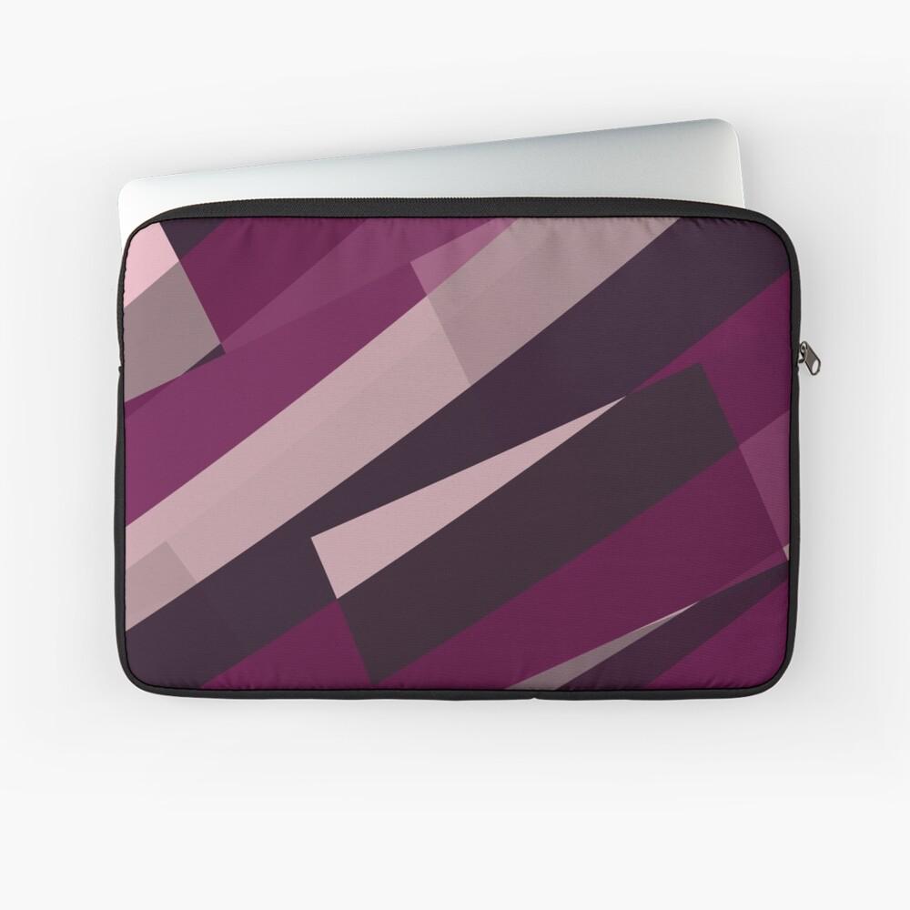Pink Purple Leopard Design Pattern Laptop Sleeve