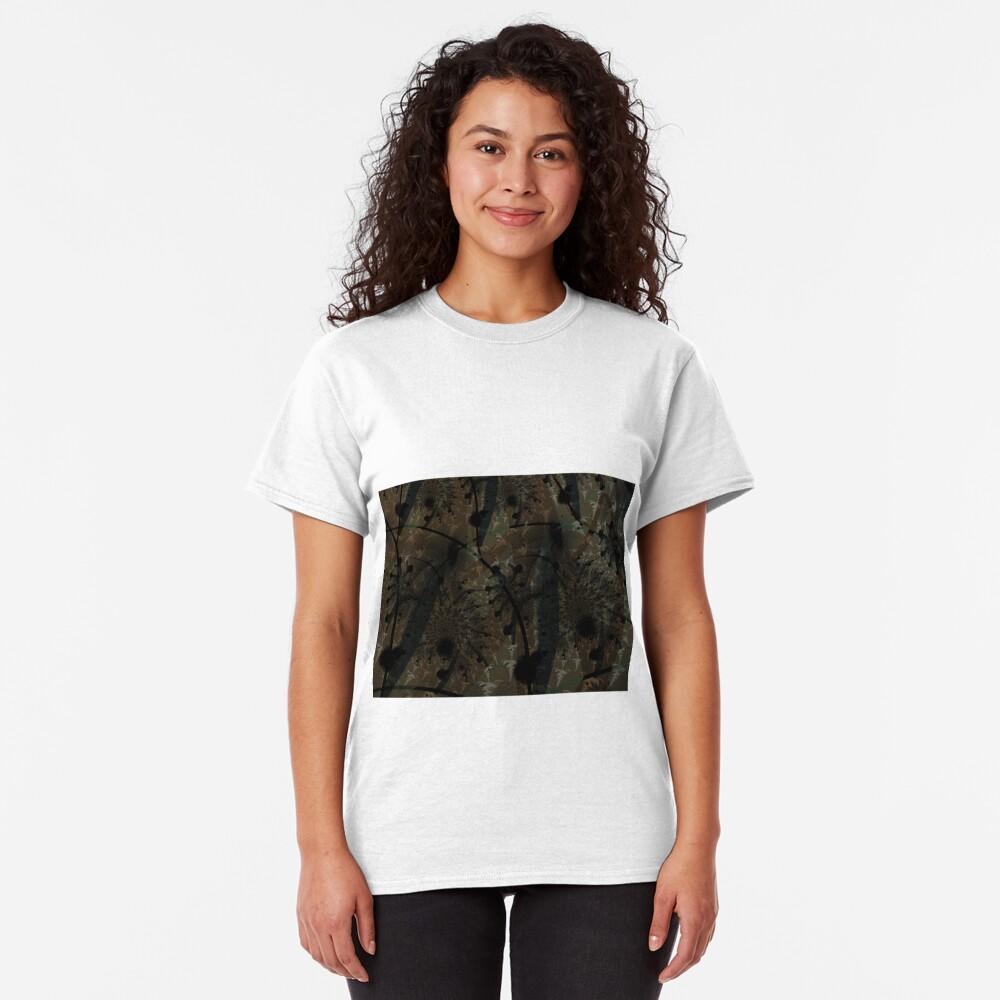 Forest Floor Art Texture Classic T-Shirt