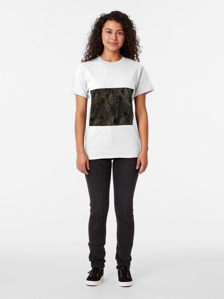 Alternate view of Forest Floor Art Texture Classic T-Shirt