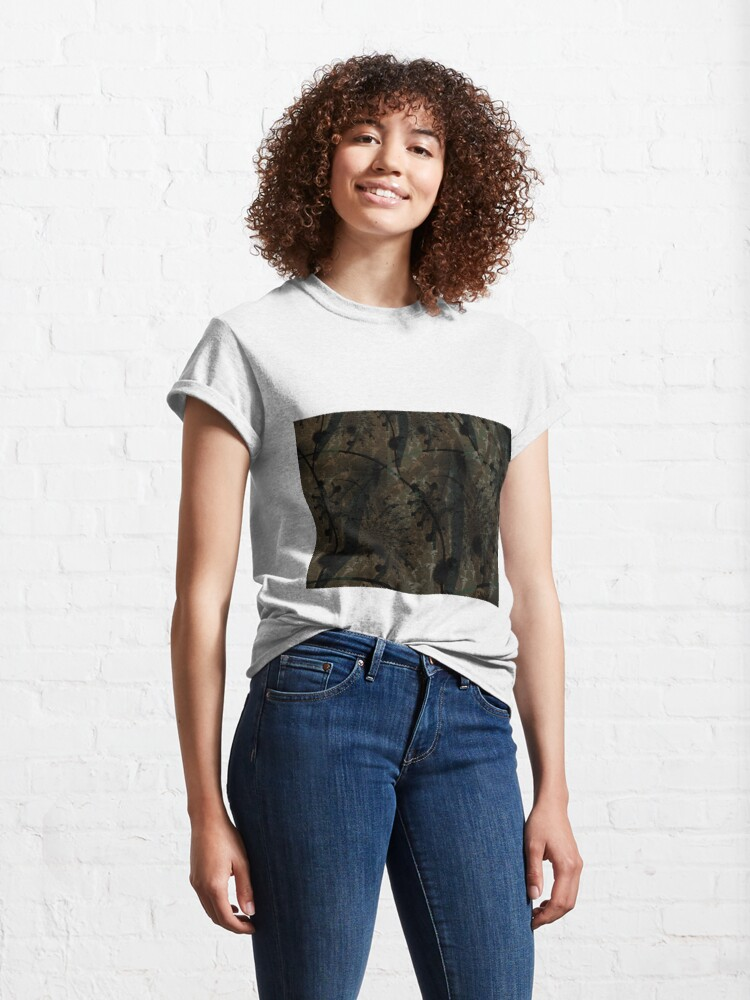 Alternate view of Forest Floor Art Texture Classic T-Shirt