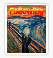 Following Sticker