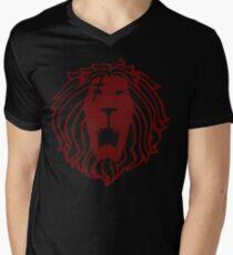 Lion's Sin of Pride (Tattoo Edition) Men's V-Neck T-Shirt