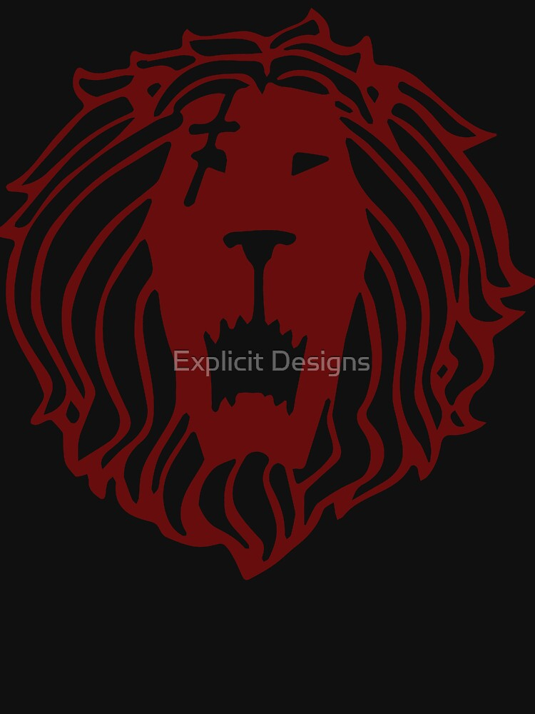 Lion's Sin of Pride (Tattoo Edition) by cybervengeance