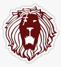 Lion's Sin of Pride (Tattoo Edition) Sticker