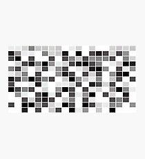 Pixel Photographic Print