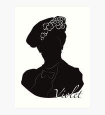 Downton Abbey, Violet Art Print