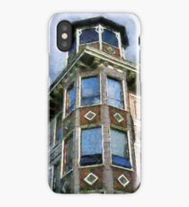 Painted Lady, Russian Hill iPhone Case/Skin