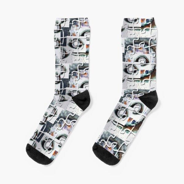 Puzzlespiele Augen Pixel Socken