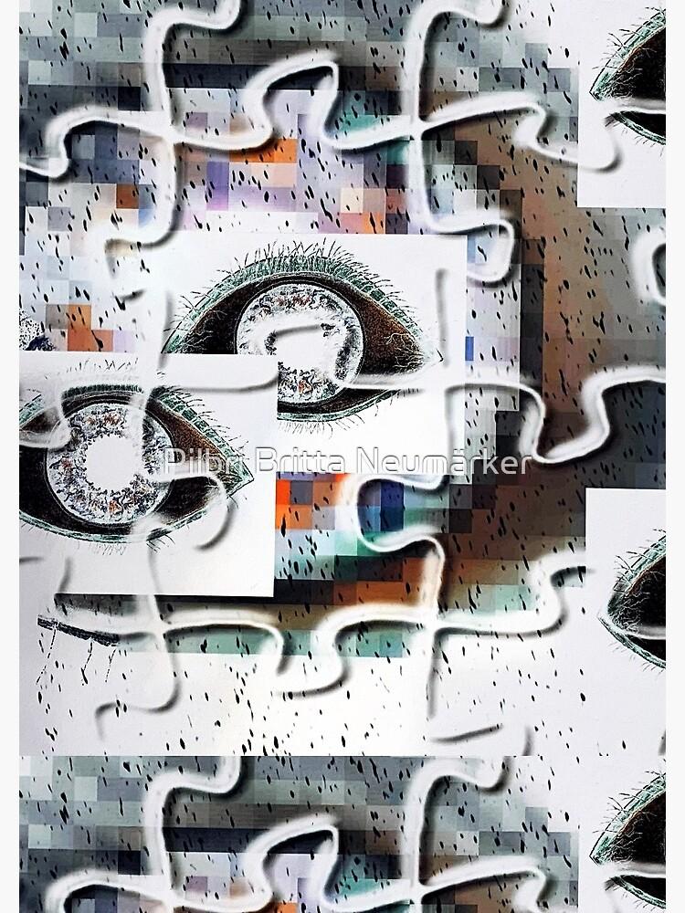 Puzzlespiele Augen Pixel von pilbri2018