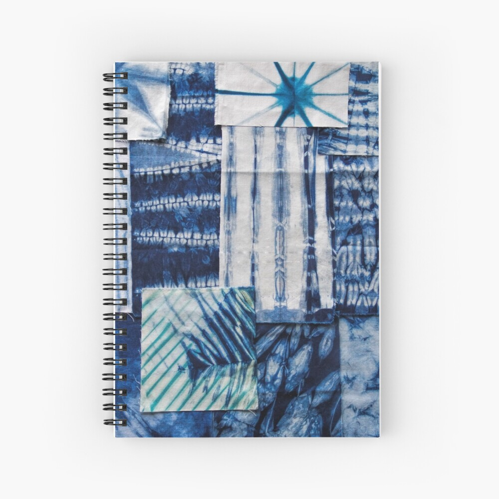 Shibori Beauty Spiral Notebook