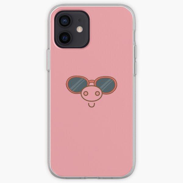 Piggy with sunglass phone Case & Cover iPhone Soft Case