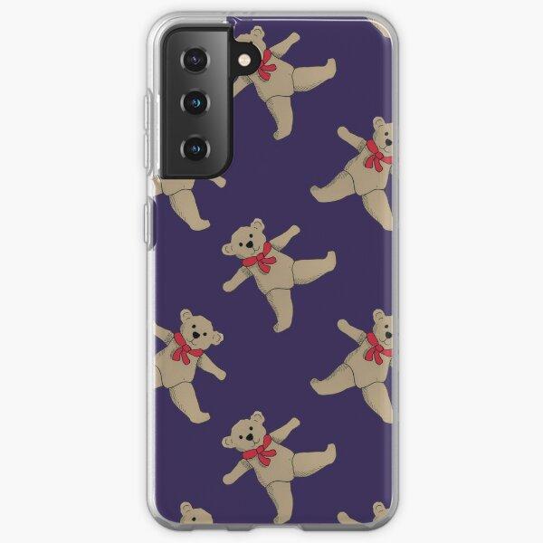 Christmas teddy bears Samsung Galaxy Soft Case