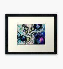 Kids Spiral Art Framed Print