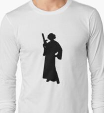 Star Wars Princess Leia Black Long Sleeve T-Shirt
