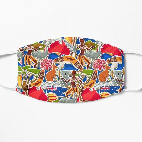 Everything australian Flat Mask