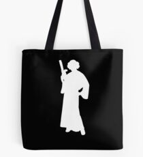 Star Wars Princess Leia White Tote Bag