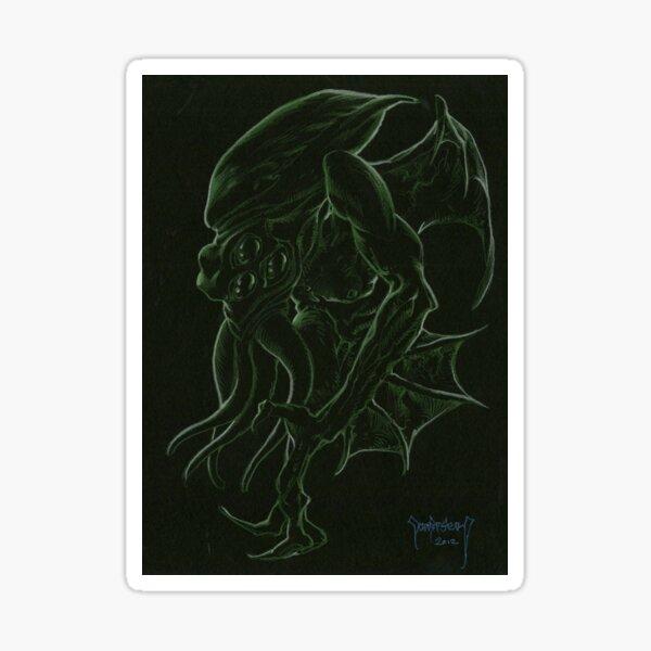 H.P.Lovecraft 's Cthulhu Dark Sticker