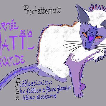 La Chatte Lavande by michdevilish