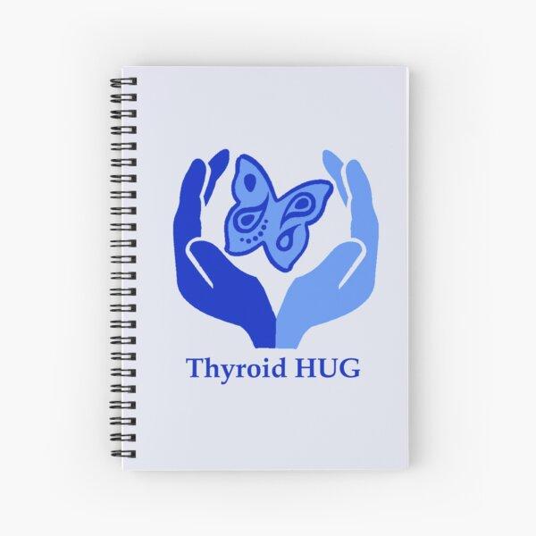 Thyroid HUG Spiral Notebook