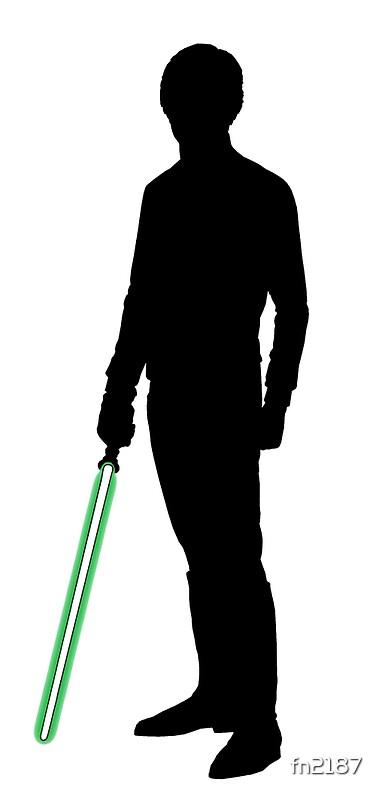 """Star Wars Luke Skywalker Black"" Art Prints by fn2187 ..."