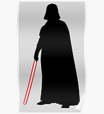 Star Wars Darth Vader Black Poster