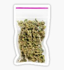 Bag of Weed Sticker