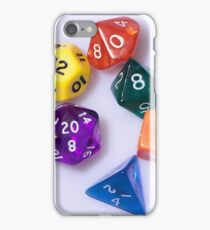 D&D dice iPhone Case/Skin