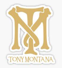 Tony Montana Logo  Sticker