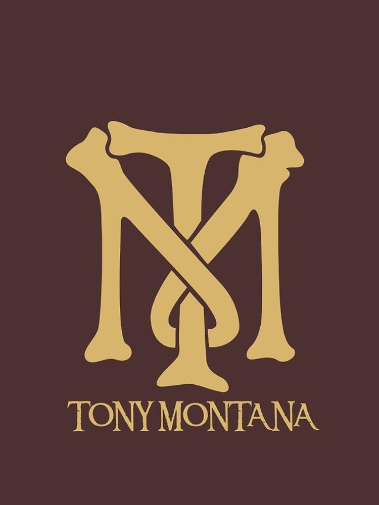 Tony Montana Logo  by yasin17
