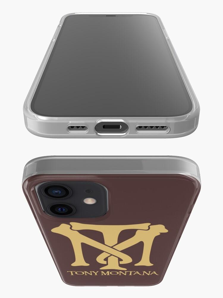 Alternate view of Tony Montana Logo  iPhone Case & Cover