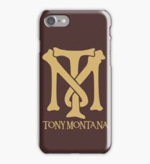 Tony Montana Logo  iPhone Case/Skin