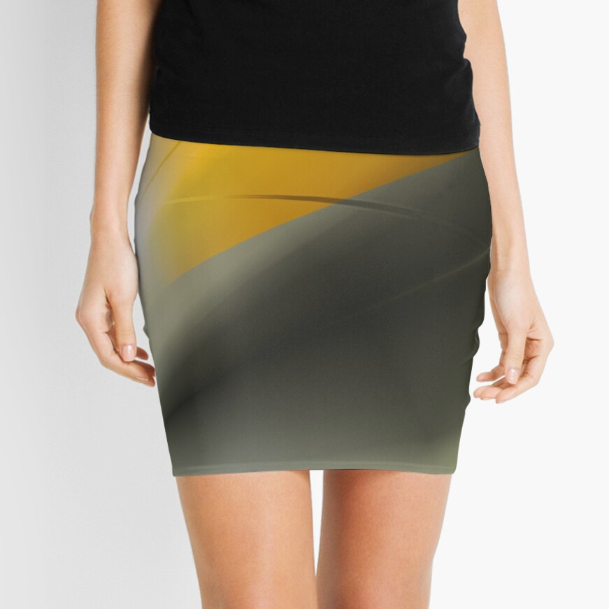 Shades and Colors Mini Skirt