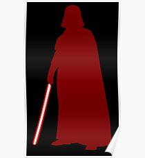 Star Wars Darth Vader Red Poster