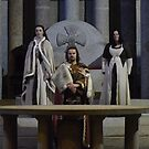 King Arthur at the Round Table by sdevonplayers