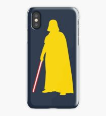 Star Wars Darth Vader Yellow iPhone Case