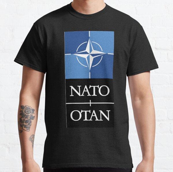 Nato Otan Military Defense Alliance Europe USA Classic T-Shirt