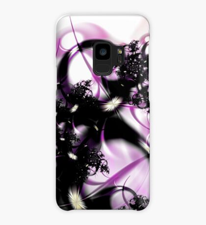Purple Abstract Case/Skin for Samsung Galaxy