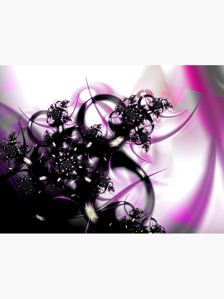 Purple Abstract by garretbohl