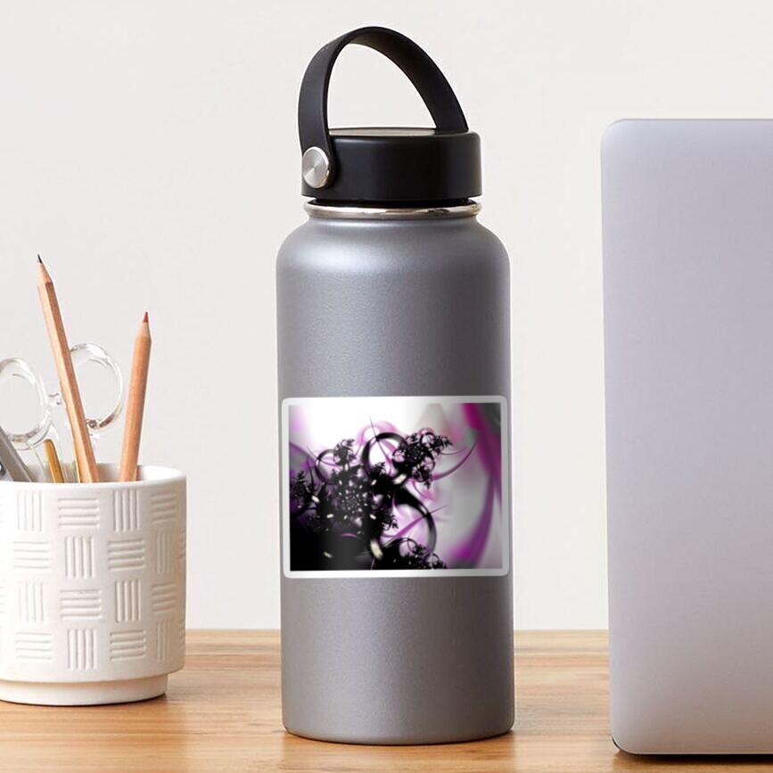 Purple Abstract Sticker