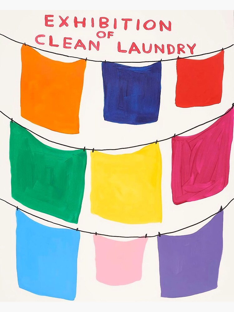 Exhibition Davids Of Clean Laundry by lenafisher657