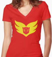 Holo Roddy Women's Fitted V-Neck T-Shirt