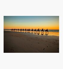 cable beach cable train  Photographic Print