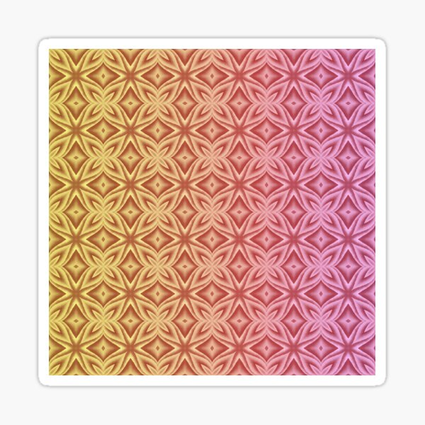 Tesselation #2 Sticker