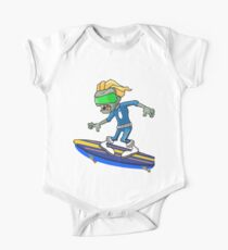 Plants vs Zombies - Space Surfear One Piece - Short Sleeve